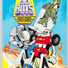 Vintage 1985 Tonka GO BOTS Robot Vehicles Gobots Unused Golden Coloring Book Col