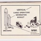 NASA Cargo Operations Information Booklet Space Shuttle TRW Kennedy Space Center
