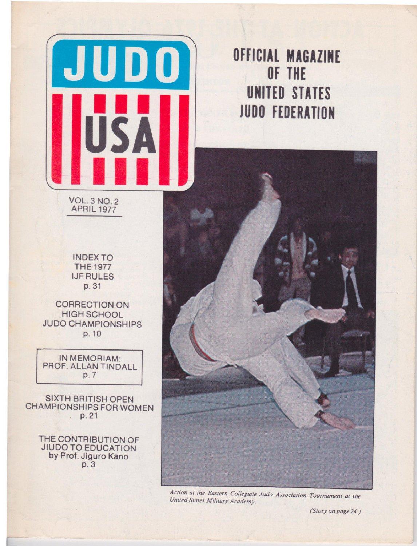 Martial Arts : JUDO USA / April 1977 Official Judo Magazine