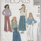 McCall's Girls Plus 4115 Tops Skirt Pants Size 10.5  12.5  14.5  16.5