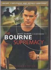 The Bourne Supremacy (DVD, 2004, Widescreen) Matt Damon QUICK SHIP