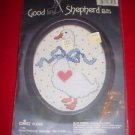 Good Shepherd BLUE RIBBON GOOSE Counted Cross Stitch Kit # 803513