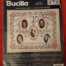 Bucilla  Childrens Hands and Hearts Counted Cross Stitch Kit  NIP