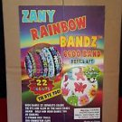 Zany Rainbow Bandz 6600 Band Refill Kit 22 Colors 24 Charms incl Tools clips