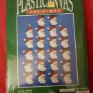 Bernat Plastic Canvas Kit  Santa's Portrait  22 Christmas Ornaments NIP