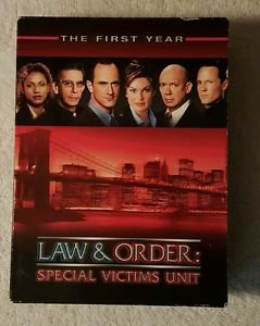 Law & Order Special Victims Unit - The First Year  6 Disc DVD Set