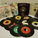 LOT of 18  Records 45's James Brown Beach Boys Byrds Stevie Wonder and MORE