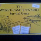 The WORST CASE SCENARIO Survival Board Game by University Games EUC Surviving