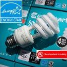 (400) CFL Soft White 14W / 60W ~Free Shipping~ 2700K Compact Fluorescent Spiral Light Bulbs ~60 Watt