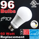 (96) LED Soft White 60W DIMMABLE ~Free Shipping~ 9.5W (60 Watt Equivalent) 2700K A19 Light Bulbs