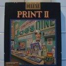 Deluxe Print II For Commodore/Amiga, IN BOX, Electronic Arts EA