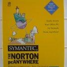 Symantec/Norton pcAnywhere V2.0 for Windows 3.1/95, IN BOX