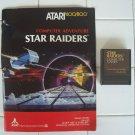 Star Raiders For Atari 400/800, WITH MANUAL, CXL 4011