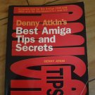 Best Amiga Tips And Secrets, SIGNED BY AUTHOR, 1993 Book