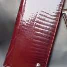 MB Maroon Color Shining Ladies Wallet 11CC