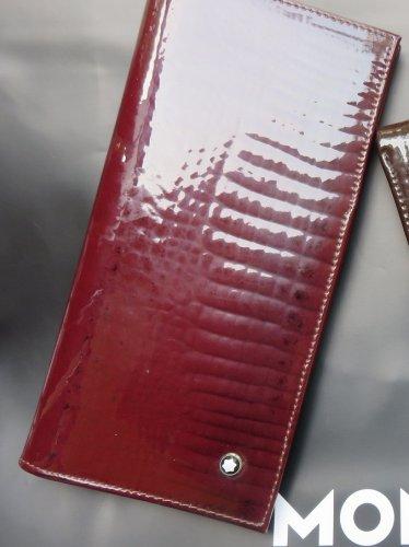 MB Maroon Color Shining Ladies Wallet 11CC