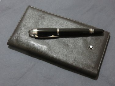 MB Soft Grain Leather Wallet and Pen