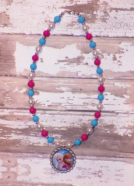 Custom Boutique Disney Frozen Sisters Necklace