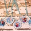 Disney Frozen Anna Elsa Olaf Party Favor Necklaces - Set of 5