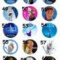 Disney Frozen Anna Elsa Olaf Party Favor Necklaces - Set of 10