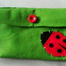 Little ladybird feltbag