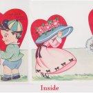 # 18 Valentine Card  used