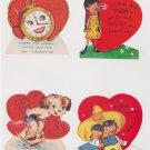 # 25 four children's  valentine cards