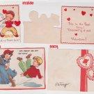 # 27 two children's valentine cards