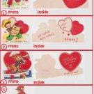 # 29 four children's valentine cards