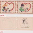 #33 Mexican boy girl children's valentine card