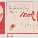 #34 Sailor dogs in tub children's valentine card