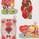 #47  Lot of four children's  valentine cards