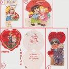 #48 Lot of four children's  valentine cards