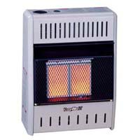 Kozy World 2 Plaque Natural Gas Heater