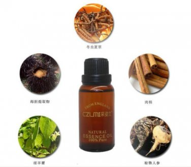 2  Male Natural Essential Oils Penis Enlargement Oil
