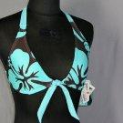 SPEEDO Bikini Halter TOP S Small 4 6 New Womens Swim Bathing Suit