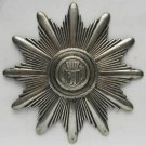 German WW2 SILVER Shako Shield Badge - rare Police kepi, order cross medal