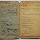 German WW2 Army foreign Hungary – Rusyn Volunteer military book, 1940