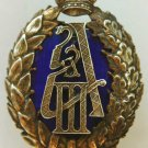Russian Imperial Badge for Service in the Suite of Emperor Alexander III, order