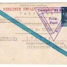 Extremely Rare German WW2 Kriegsmarine Feldpost from Lazarettschift Berlin, 1944