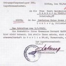 Rare German WW2 Rotes Kreuz Document from Lager POWs Zittau, 1942