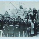 EXTREMELY rare German WW2 photo of U-boat U-660 from KGB archive, stamped