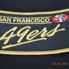 49ers iron on patch