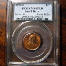 1970 S Small Date Lincoln Cent PCGS MS65RD Rare Key Date Undergraded MS66 Red Glow