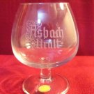 set 8 Asbach Uralt Crystal Brandy Snifter Small German Cognac glasses etched new