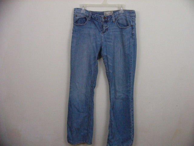 AMERICAN RAG WOMENS blue JEANS SIZE 13S BOOT CUT PANTS SLACKS