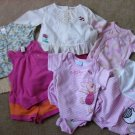 lot 11 Baby Girl Clothes SUMMER outfits 3-6 months Baby Gap,Disney,George + more