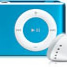 Clip-on-Style MP3 Player 2GB Blue