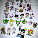Set of 33 Authentic Kawaii tokidoki Vinyl Stickers