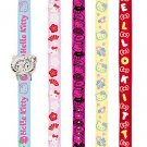 Hello Kitty Dress-Up Wrist Watch Set: 5 different interchangeable bands
